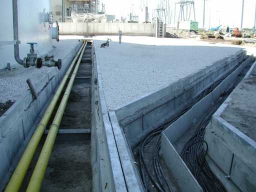 Concrete Cable Trench Dividers Trenwa Inc
